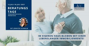 Read more about the article Beratungstage: Die lebenslange Immobilienrente